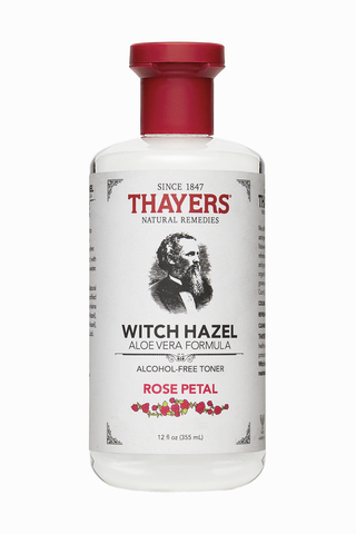 Witch Hazel Toner Alcohol-Free - Rose Petal - 355ml - Thayers - Health & Body Nutrition