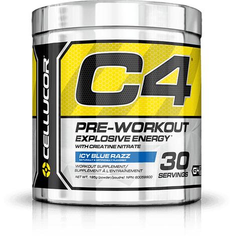 C4 Pre-Workout 30 servings - Cellucor