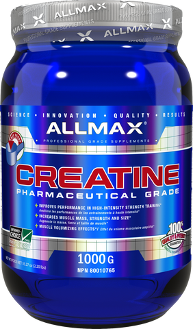 Creatine Monohydrate 1000g - Allmax Nutrition - Health & Body Nutrition