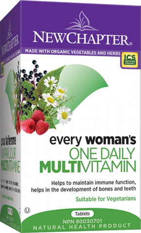 Every Woman's One Daily Multivitamin - 72tabs - NewChapter - Health & Body Nutrition