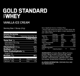 Gold Standard 100% Whey Protein-Optimum Nutrition-5LB-Vanilla Ice Cream