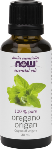 Oregano Essential Oil - 30ml - Now - Health & Body Nutrition