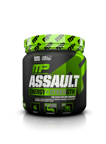 Assault - Blue Raspberry - 345g - Musclepharm - Health & Body Nutrition