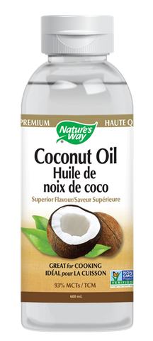 Liquid Coconut Oil - 300ml - Nature's Way - Health & Body Nutrition