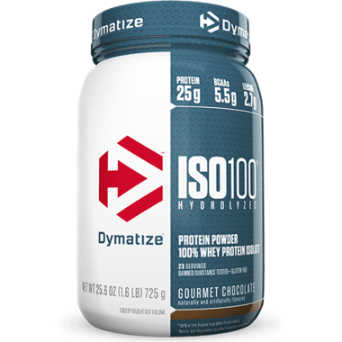 ISO100 Hydrolyzed - 1.6lbs - Dymatize - Health & Body Nutrition