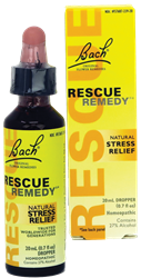 Rescue Remedy Drops - 20ml - Bach - Health & Body Nutrition