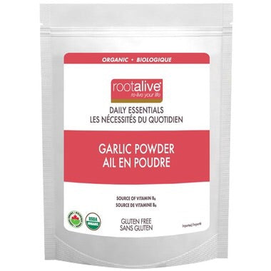 Organic Garlic Powder - 100g - Rootalive - Health & Body Nutrition