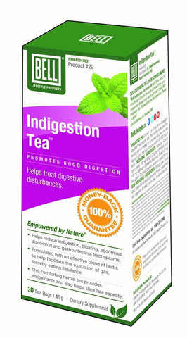 Indigestion Tea - 30bags - Bell - Health & Body Nutrition