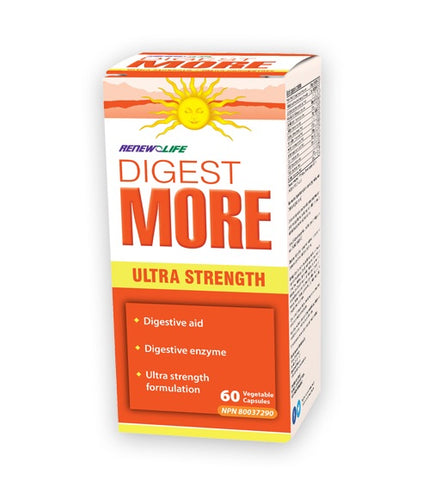 DigestMORE ULTRA - 60vcaps - Renew Life - Health & Body Nutrition