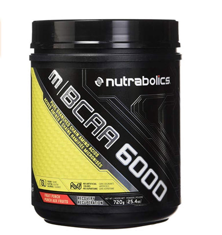 m|BCAA 6000 Fruit Punch - 90 servings - 720g - Nutrabolics expires: Oct 2019 - Health & Body Nutrition