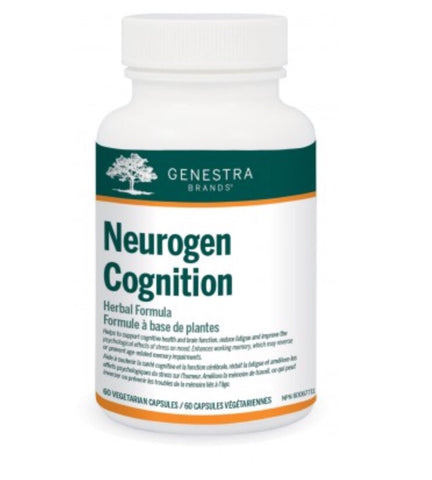 Neurogen Cognition - 60vcaps - Genestra - Health & Body Nutrition