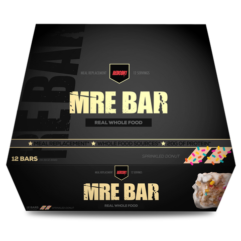 MRE BAR - Sprinkled Donut - 12bars - RedCon1 - Health & Body Nutrition