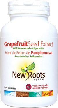 Grapefruit Seed Extract - 90vcaps - New Roots - Health & Body Nutrition