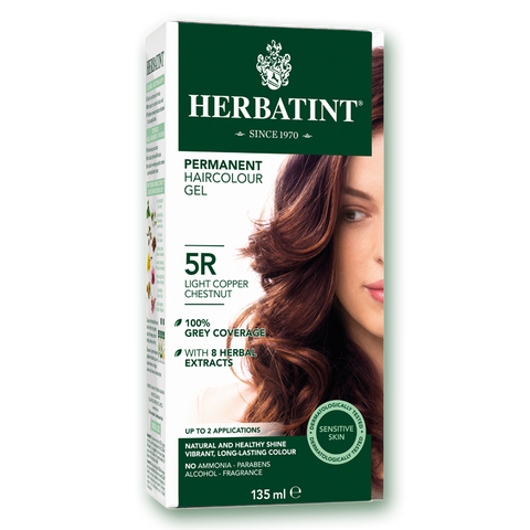 Herbatint Colour - 5R Light Copper Chestnut - 135mL - A.Vogel - Health & Body Nutrition
