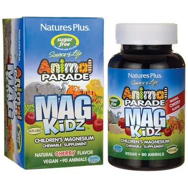 Animal Parade Mag Kidz - 90chewables - Cherry Flavoured - Nature's Plus - Health & Body Nutrition