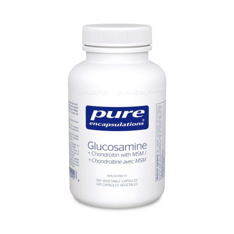 Glucosamine + Chondroitin with MSM - 120vcaps - Pure Encapsulations - Health & Body Nutrition