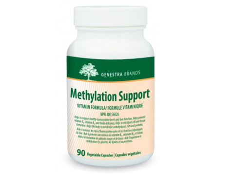 Methylation Support - 90vcaps - Genestra - Health & Body Nutrition