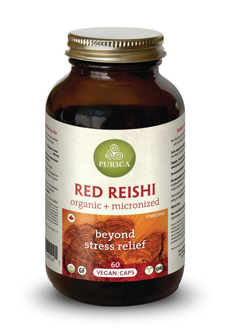 Red Reishi - 60vcaps - Purica - Health & Body Nutrition