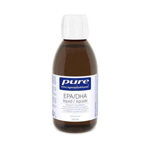 EPA/DHA liquid - 200ml - Pure Encapsulations - Health & Body Nutrition