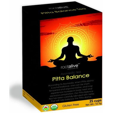 Pitta Balance Tea - 35cups - Rootalive - Health & Body Nutrition