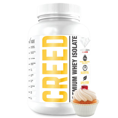 Creed Gourmet Whey Isolate - 4.4lbs - Perfect Sports