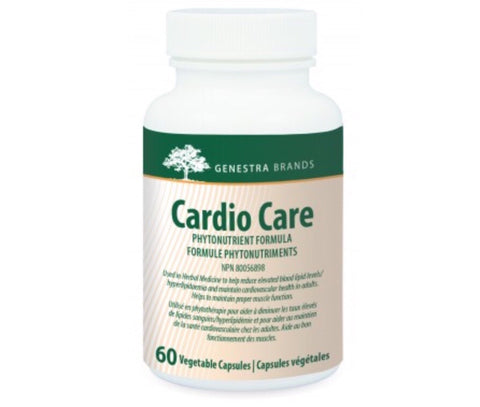 Cardio Care - 60vcaps - Genestra - Health & Body Nutrition