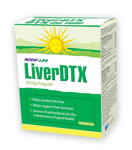 LiverDTX - 30days - Renew Life - Health & Body Nutrition