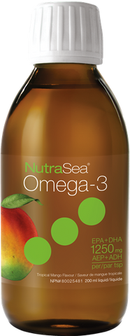 NutraSea Omega-3 Mango - 200ml - Health & Body Nutrition