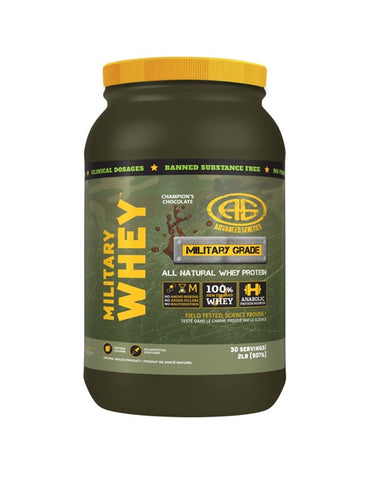 Military Whey Protein - 2lbs - Advanced Genetics - Health & Body Nutrition