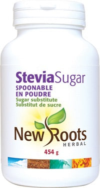 Stevia Sugar - 454g - New Roots - Health & Body Nutrition