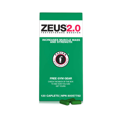 ZEUS 2.0 - 120caps - Fusion Bodybuilding - Health & Body Nutrition