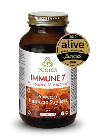Immune 7 - 120vcaps - Purica - Health & Body Nutrition