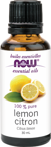 Lemon Essential Oil - 30ml - Now - Health & Body Nutrition