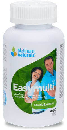 Easymulti - 60gels - Platinum Naturals - Health & Body Nutrition