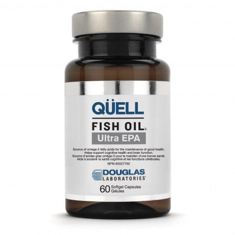 QÜELL Fish Oil High EPA - 60gels - Douglas Labratories - Health & Body Nutrition