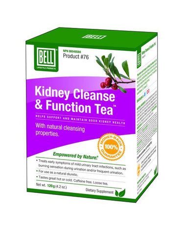 Kidney Cleanse & Function Tea - 120g - Bell - Health & Body Nutrition