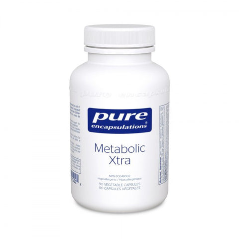 Metabolic Xtra - 90caps - Pure Encapsulations - Health & Body Nutrition