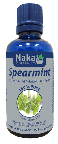 Spearmint Essential Oil - 50ml - Naka - Health & Body Nutrition