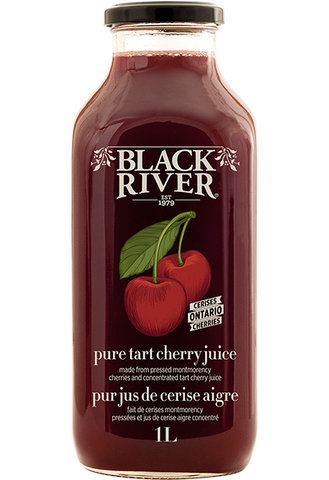Pure Tart Cherry Juice - 1L - Black River - Health & Body Nutrition