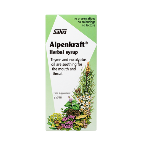 Alpenkraft Herbal Cough Syrup - 250ml - Salus - Health & Body Nutrition