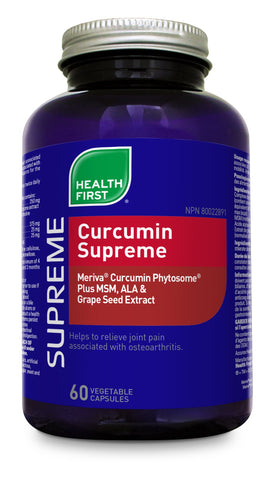 Curcumin Supreme - 120vcaps - Health First - Health & Body Nutrition