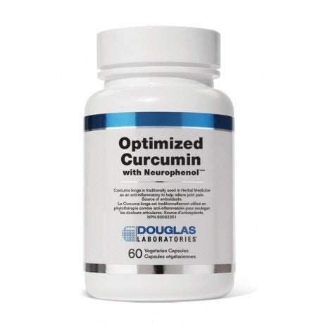 Optimized Curcumin With Neurophenol - 60vcaps - Douglas Labratories - Health & Body Nutrition