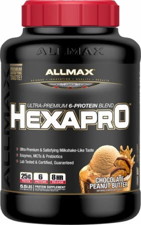 Hexapro 6-Protein Blend - 5.5lbs - Allmax - Health & Body Nutrition