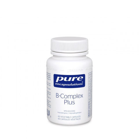 B-Complex Plus - 60vcaps - Pure Encapsulations - Health & Body Nutrition