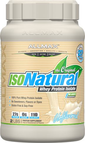 IsoNatural - 5lbs - Unflavoured - Allmax - Health & Body Nutrition