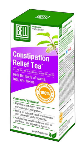 Constipation Relief Tea - 20bags - Bell - Health & Body Nutrition