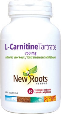 L-Carnitine Tartrate - 750mg - 30vcaps - New Roots - Health & Body Nutrition