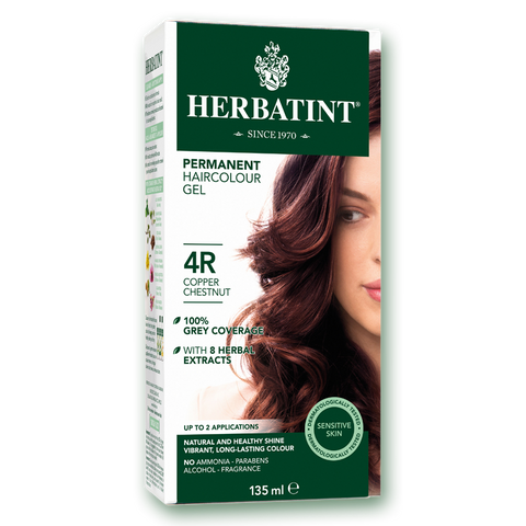 Herbatint Colour - 4R Copper Chestnut - 135mL - A.Vogel - Health & Body Nutrition