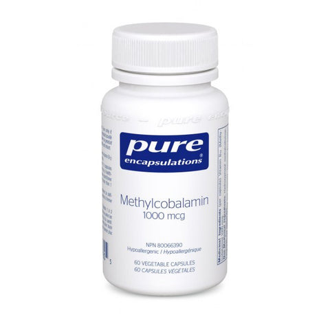 Methylcobalamin - 60vcaps - Pure Encapsulations - Health & Body Nutrition