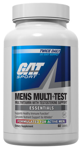 Men's Multi+Test - 60tabs - Gat Sport - Health & Body Nutrition